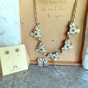 Chloe and Isabel necklace and earrings set